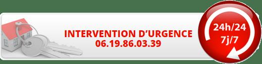intervention d'urgence